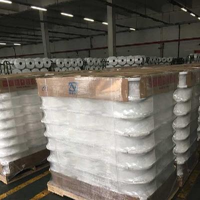 Agen Benang Bandung Product  POY Raw White